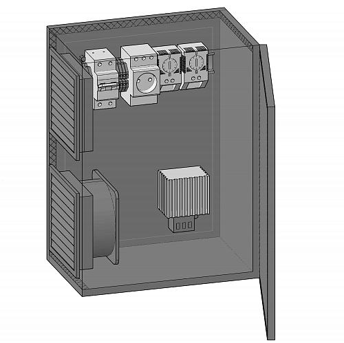 Термошкаф IBV-3040200-45 от ITProm - купить с доставкой, цена 18 227, фото